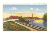 Dow Chemical Plant, Midland, Michigan Prints