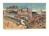 Million Dollar Pier, Atlantic City, New Jersey Prints
