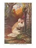Scene from Tannhauser, Elizabeth's Prayer Posters