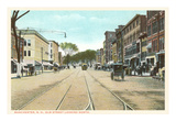 Elm Street, Manchester, New Hampshire Prints