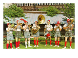 Tyrolean Band, Retro Poster