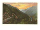 Sunrise in Nantahala Gorge, Western North Carolina Kunstdrucke