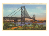 Ambassador Bridge, Detroit, Michigan Art