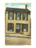 Mark Twain Home, Hannibal, Missouri Print