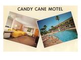 Candy Cane Motel, Rétro Affiches