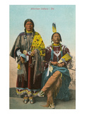 Ute Chief and Squaw Art