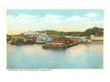 Waterfront, Mackinac Island, Michigan Prints