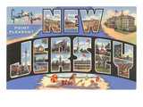Greetings from New Jersey Prints