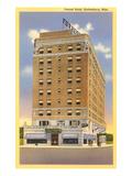 Hôtel Forrest, Hattiesburg, Mississippi Poster