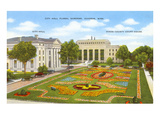 City Hall, Gardens, Jackson, Mississippi Prints