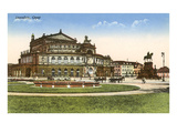 Dresden Opera House Posters