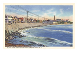 Hampton Beach, Great Boars Head, New Hampshire Poster