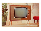 TV Set, Retro Prints