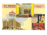 Hotel Minnesotan, Minneapolis, Minnesota Prints