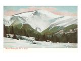 Winter, Mt. Washington, White Mountains, New Hampshire Print