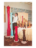 Giant Pepper Mills, Retro Posters
