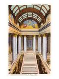 Interior, State Capitol, St. Paul, Minnesota Print