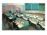 NASA Control Room Prints