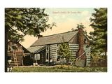 Casa de troncos de Grant, San Luis, Misuri Lámina