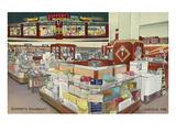 Ruppert's Pharmacy, Lincoln, Nebraska Kunstdruck