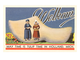 Welkom, Tulip Time, Holland, Michigan Posters