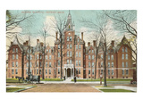 Harper Hospital, Detroit, Michigan Print