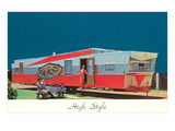High Style, Big Trailer, Retro Posters