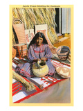 Apache Basket Weaver Prints