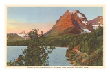 Going-to-the-Sun Mountain, Glacier Park, Montana Print