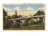 Skyline, Lansing, Michigan Pósters