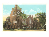 Central Methodist Church, Lansing, Michigan Prints