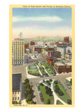 Downtown Asheville, North Carolina Prints