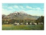 Emigrant Peak, Livingston, Montana Poster