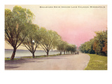 Boulevard Drive, Minneapolis, Minnesota Print