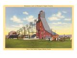 Copper Mine, Keweenaw, Michigan Prints