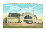 Exhibition Hall, Billings, Montana Prints