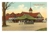 Pavilion, Lake Massabesic, Manchester, New Hampshire Posters