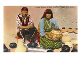 San Ildefonso Pottery Makers, New Mexico Posters
