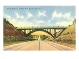 Dodge Highway, Omaha, Nebraska Prints