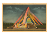 Scott Fountain, Belle Isle, Detroit, Michigan Prints