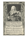 George Frederick Handel and the Messiah Posters