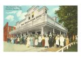 Excelsior Hotel, Excelsior Springs Print