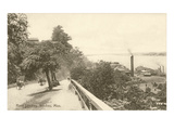 River Landing, Natchez, Mississippi Print