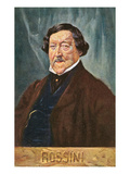 Portrait of Rossini Premium Giclee Print