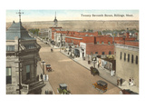 27th Street, Billings, Montana Prints