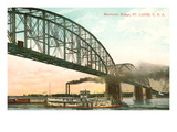 Merchants Bridge, St. Louis, Missouri Posters