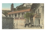 Early Scene in Taxco, Guerrero, Mexico Prints
