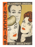 Finocchio's Show Advertisement Posters
