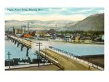 Higgins Avenue Bridge, Missoula, Montana Prints