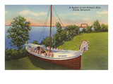 Leif Erikson's Boat, Duluth, Minnesota Prints